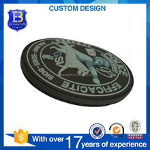 Promotional Custom 3D PVC Rubber Patch for clothes