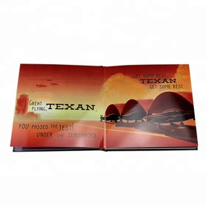 Best price custom color printing A4 hard paper board books