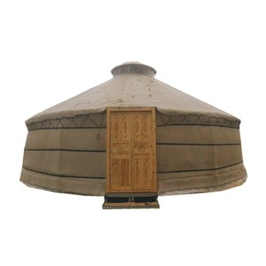 Good Price Wooden Winter Heated Mongolian Yurt Tent