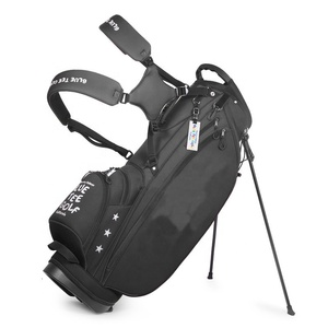 Custom Embroidery logo 14 ways Light Weight Golf stand Nylon Bag