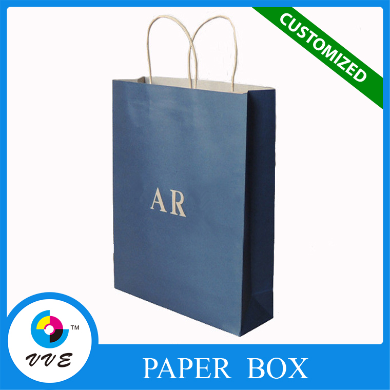 Pantone Color Printing Kraft Paper Bag shopping bag, art paper bag, clothes bag