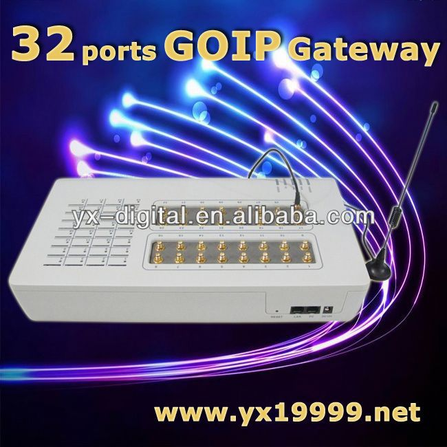 32 Goip For Voip Traffic Goip 32 gateway gsm to isdn gateway
