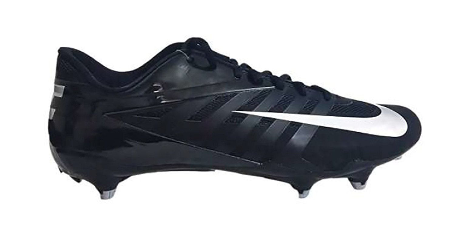 93f2e74ef104 Get Quotations · Nike Vapor Pro Low D Men s Football Cleats Size 12 Black  511342 001