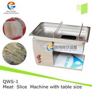 QWS-1 Small Size Meat Pork , Pig Ear , Squid lamb Slicing Shredding Machine with 304 stainless steel