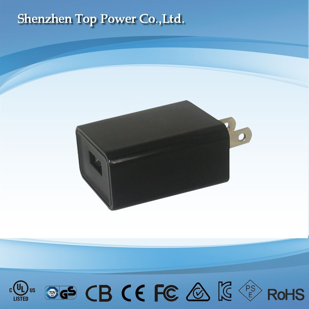 Eu/us Plug Single Usb 5v 2.4a Wall Charger Power Adapter Multi ...