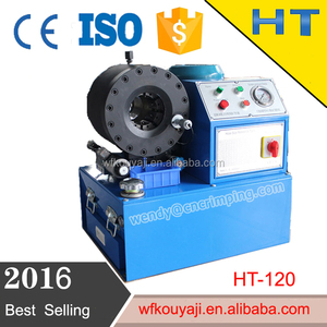 CE multi dimension newest gates hydraulic hose crimping machine