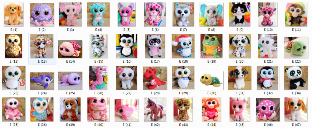 The Gallery For --  Beanie Boos Names And Birthdays List 4d1e87f4d5c