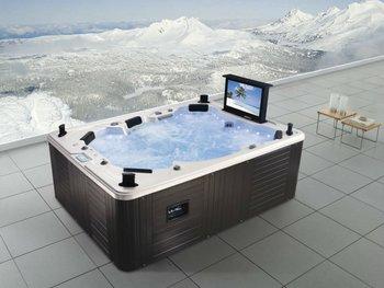 Garden Hydro Jet Hot Tub With Waterproof Tv M 3342 Buy