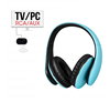 Wireless Over-ear TV Headphones Wireless RF Stereo Headphones Headset Earphone with 3.5mm Audio-out Jack Auto Sleep YH680