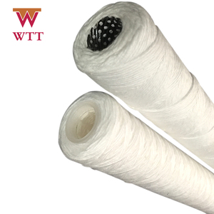 "1 micron cotton 10"" wire wound string water filter cartridge"