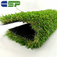 4 green colors High Quality Tencate 35mm Artificial Grass For Garden