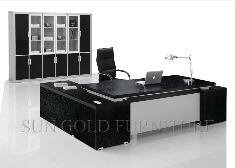 Cheap But Classy Melamine Office Furniture Executive Desk Manager ...