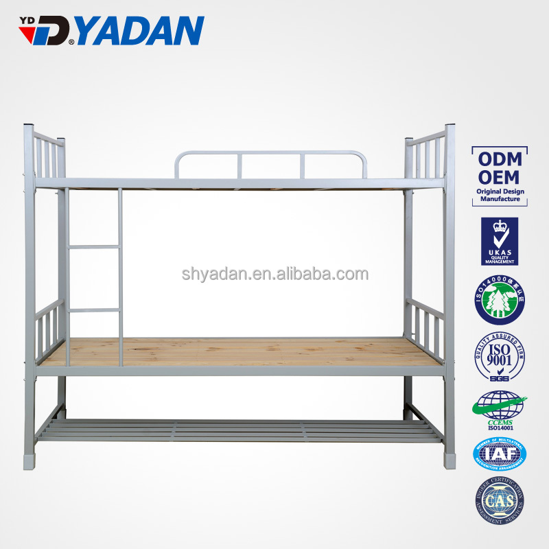 adult army steel bunk bed double metal bunk bed for hostel