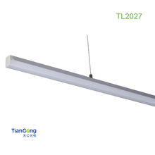 China supplier TL2027 various shapes aluminum profile led rigid strip channel light