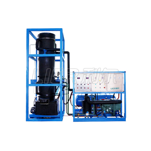High efficient Cube ice Machine System with Automatic Tube ice Packing system