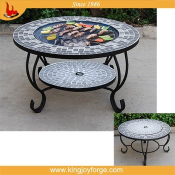 30 Garden Ceramic Tile Stone Fire Pit Ourdoor Firepit Product On Alibaba