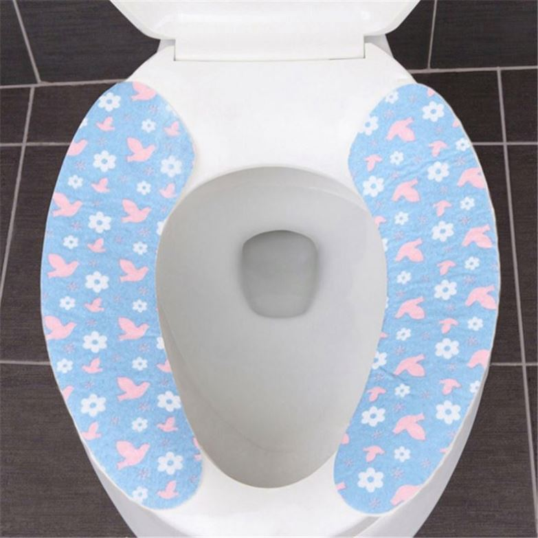 DISPOSABLE PAPER TOILET SEAT COVERS BRILLIANT NEW HYGIENIC ITEM 30PCS 3 PACK
