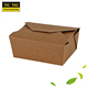 recycle kraft paper lunch box fast food box salad folding packaging boxes