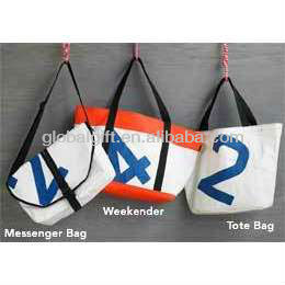 Recycled Tote Durable Sailcloth Bags