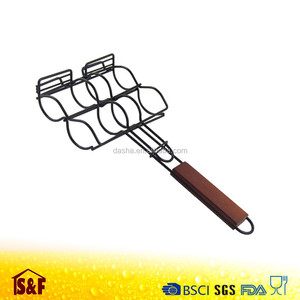 Good Quality Corn Grill Basket , Corn Grilling Holder