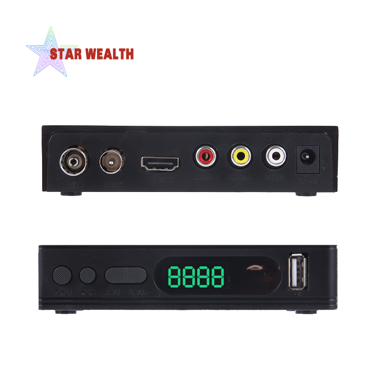 DVB T2 Receptor Decoder Combo TV Tuner wifi <strong>Satellite</strong> Receiver Cline Youtube Terrestrial Iptv TV Box
