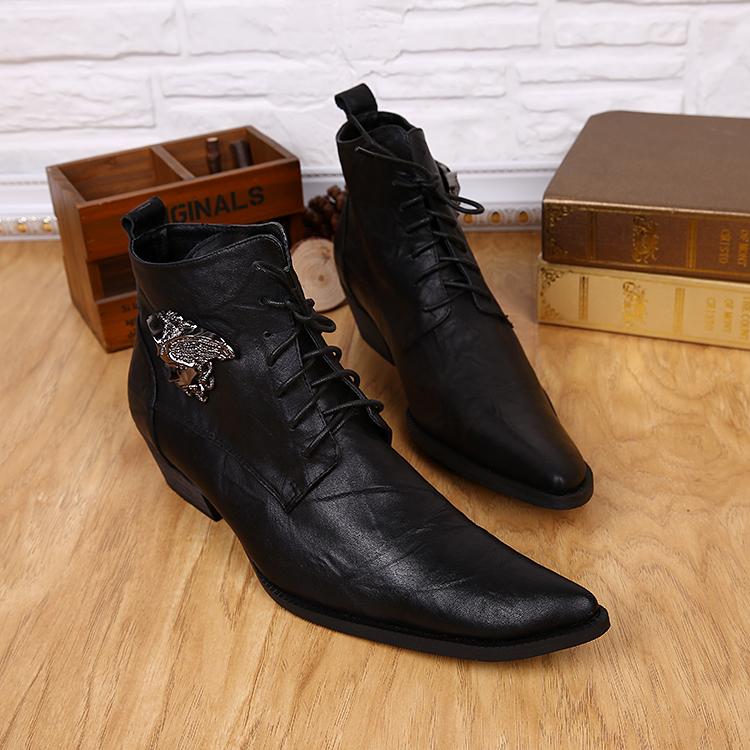 8df8ec154a890 2016-nuevos-hombres-de-moda-tobillo-botas-cortas-punta-estrecha-Martin-botas -para-hombre-100-cuero