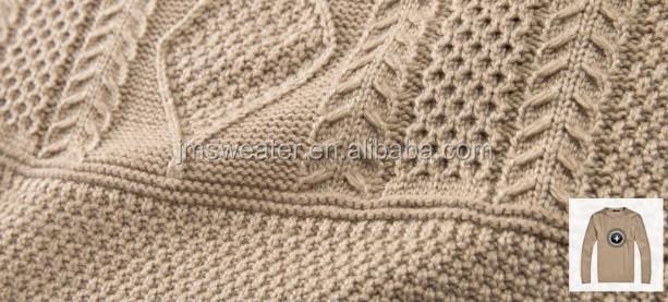 Hoge kwaliteit handgemaakte breien polo hals heren merk - Patrones jerseys de punto hechos a mano ...
