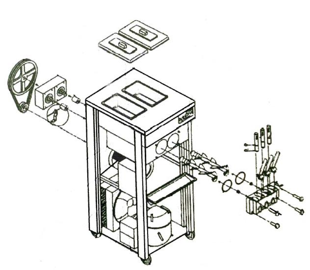Resultado de imagen de ice soft machine