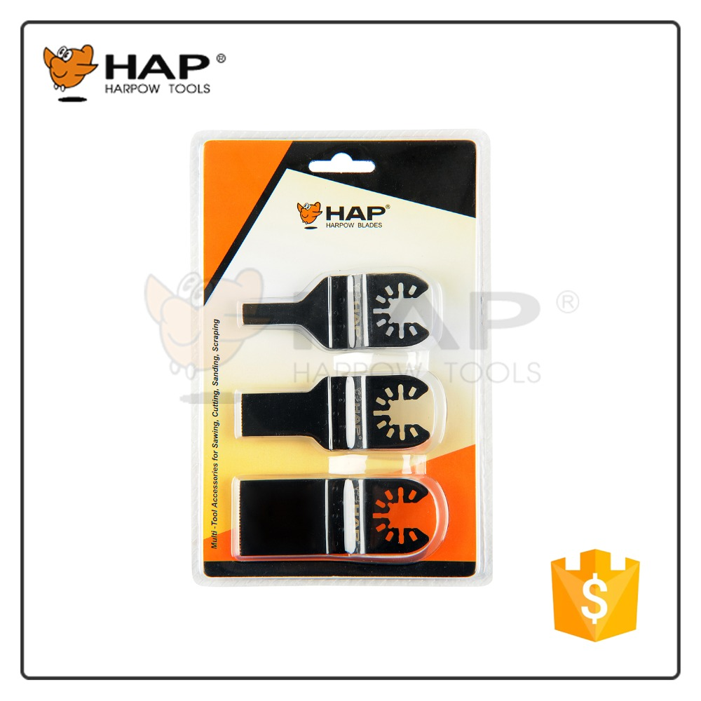 3pcs Double blister multitool Blade Set