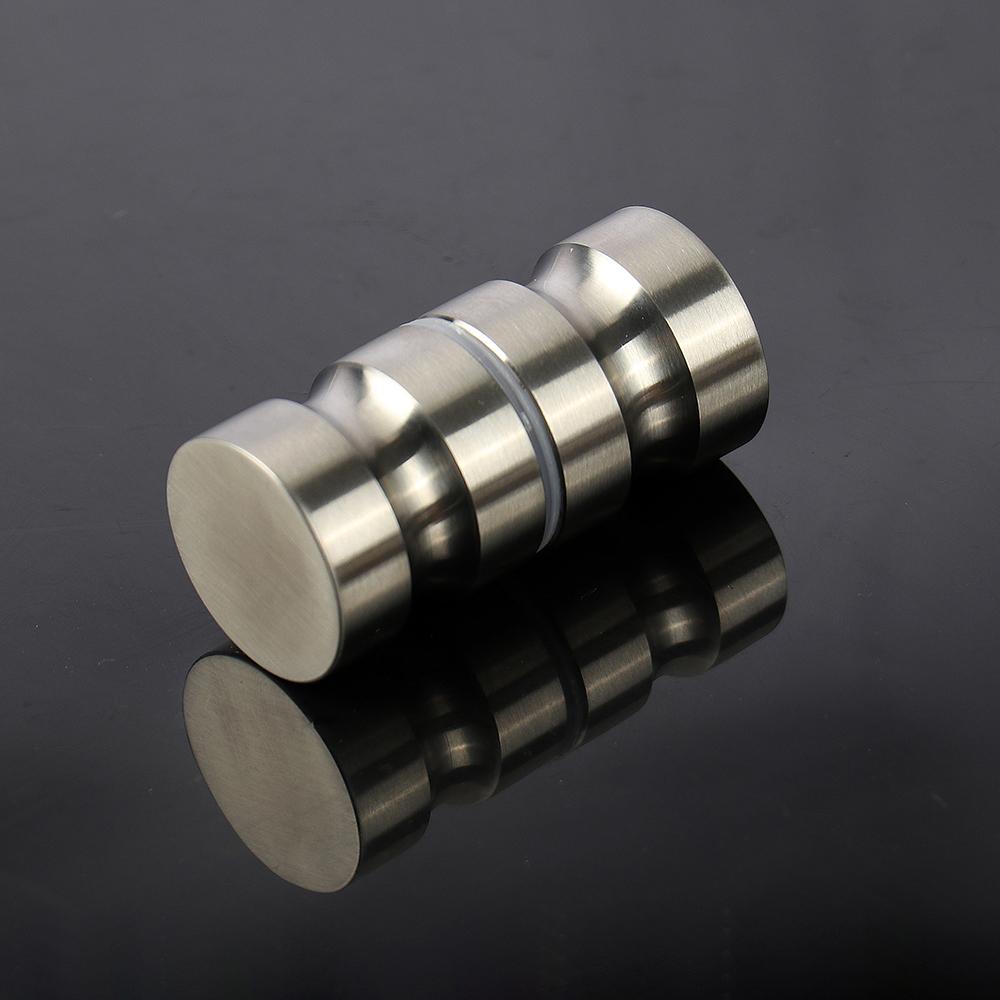 Home Doors, Door Parts & Accessories Elegant Bathroom Shower Glass Door Handles Display Cabinet Knob Hardware Steel