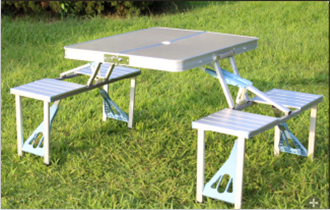 Miraculous Aluminium Folding Portable Picnic Outdoor Camping Set Table 4 Chairs Bbq Party Fishing Chairs Buy Bbq Party Fishing Chairs Folding Portable Picnic Download Free Architecture Designs Scobabritishbridgeorg