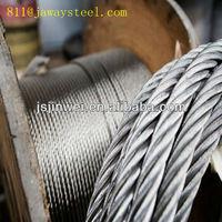 S.S/Stainless wire rope aisi304 5mm 1x7 7x7 1x19 7x19 6x19+IWRS 6x7+FC