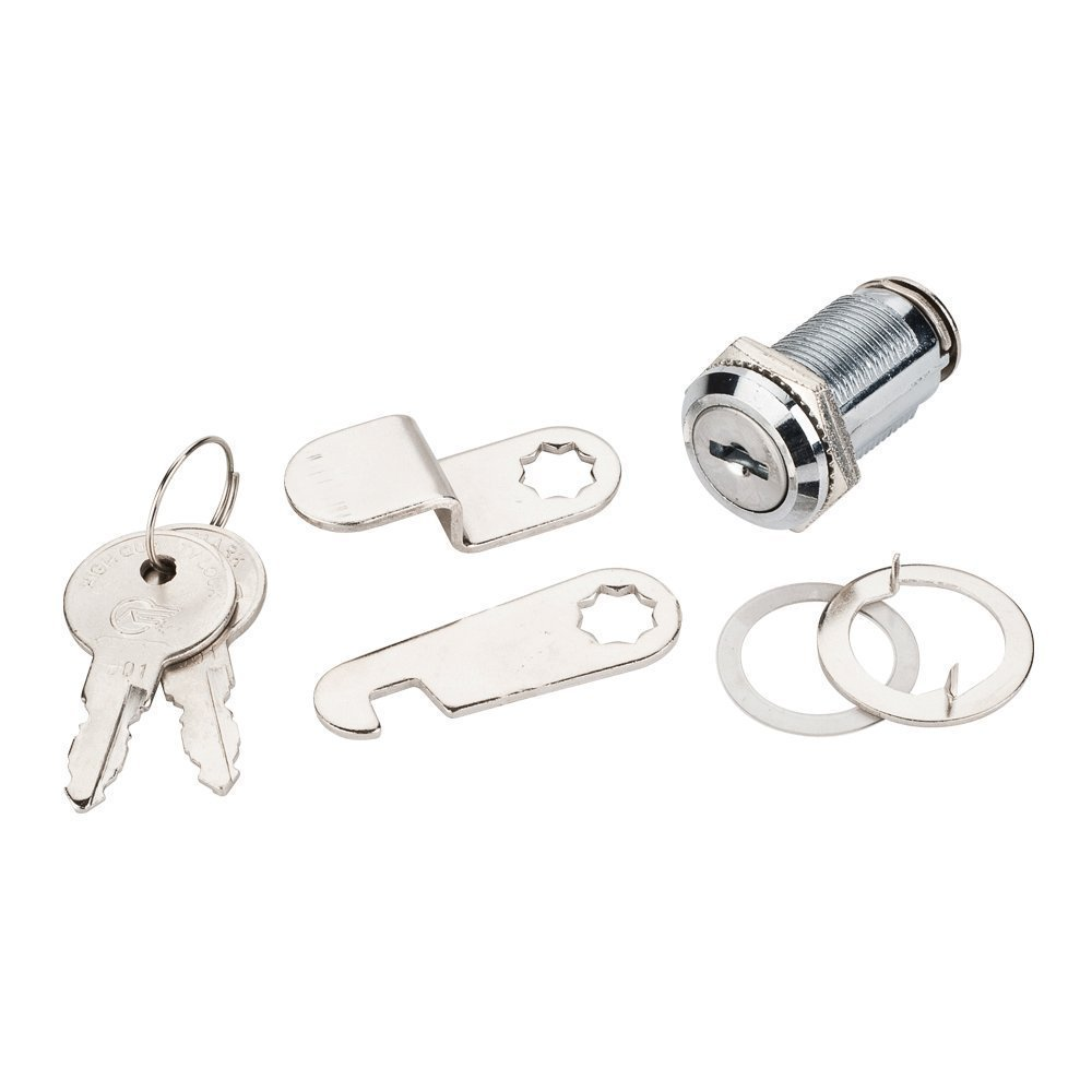 50 Pack - CAM LOCK KEYED ALIKE FOR MAILBOX, ENCLOSURES, CABINETS, DESKS, DRAWERS