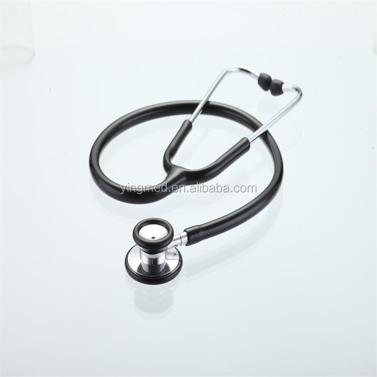 Medical cardiology dual stethoscope with CE&SIO