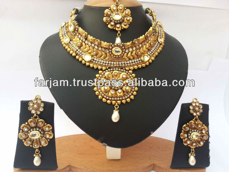 Indian Bridal Gold Jewellery Designs, Indian Bridal Gold Jewellery ...