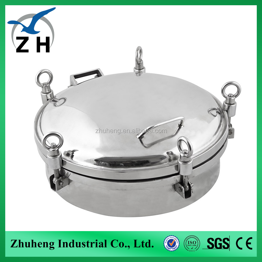tank manway covers sanitary stainless steel manhole cover