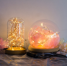 CR2032 Button Battery Operated led kerst string licht, decoratie voor <span class=keywords><strong>Diwali</strong></span>/Bruiloft Koperdraad Snaar Licht