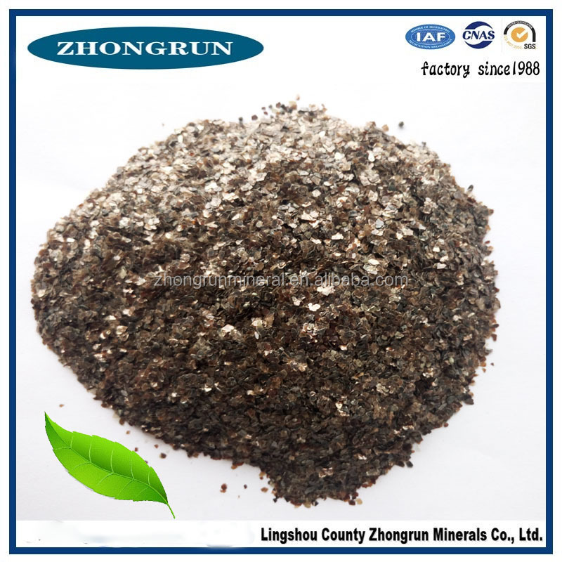 High quality, refractory mica used for extinguishant material