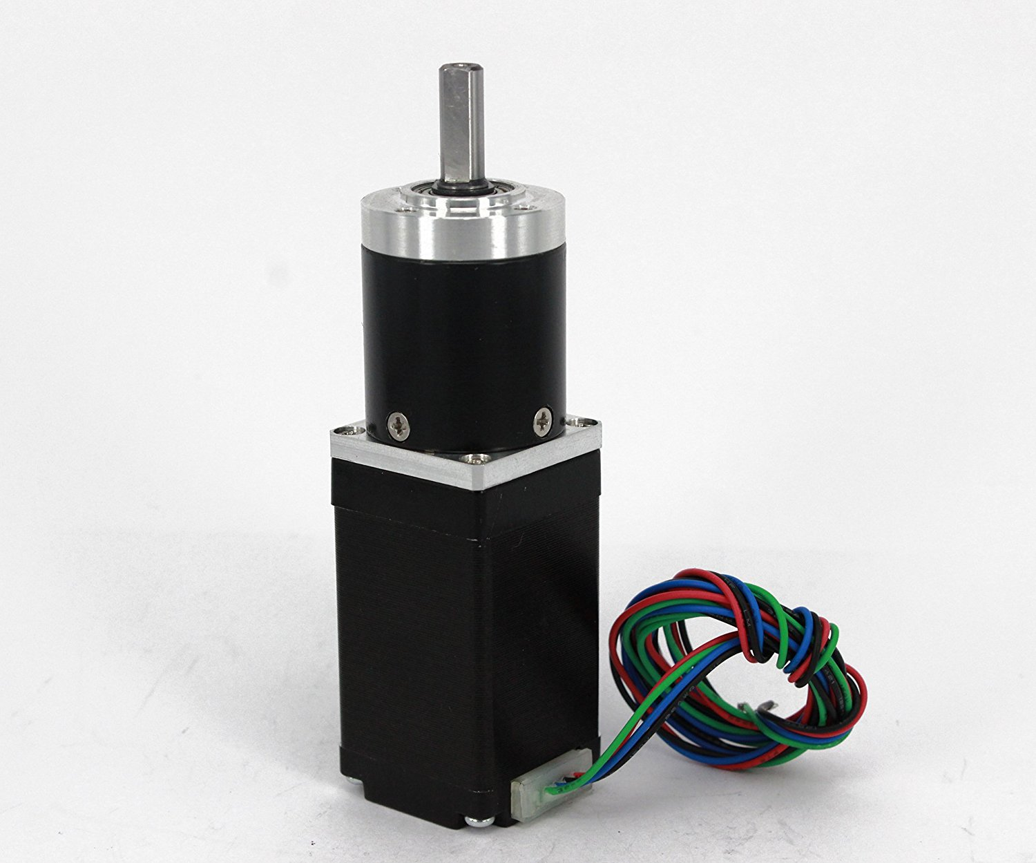 Gear Stepper Motor NEMA 11 L=50mm with Planetary Gearbox Ratio 9~20:1 (Ratio 9:1)