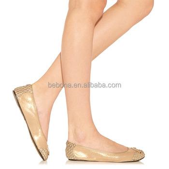 b432399531b9 Foldable Ballet Flats Wholesale After Party Wedding Ballerina - Buy ...