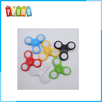 High Quality LED Fidget Spinner with On Off and Replaceable Battery