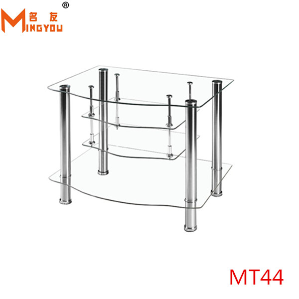 Hot Sale Glass Floor Small Tv Stand