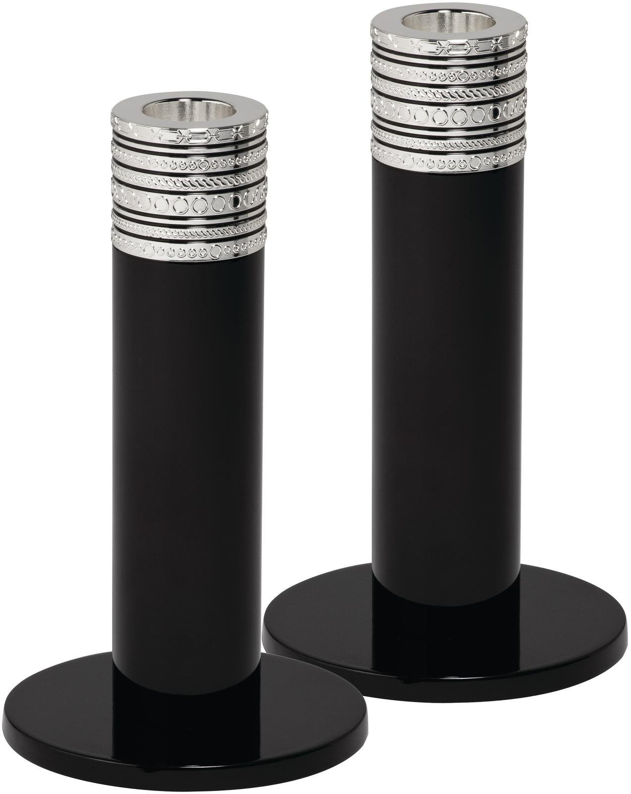 Vera Wang by Wedgwood Love Noir Candlestick, 6-Inch