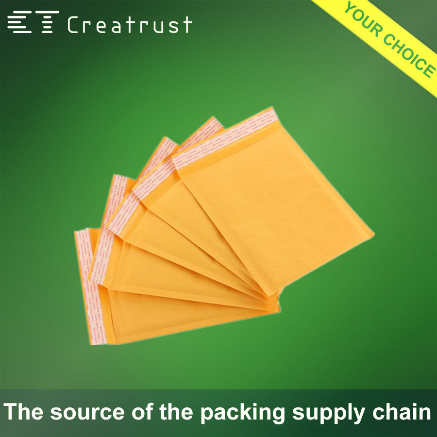 Multifunctional Kraft Bubble Envelope for Mailing