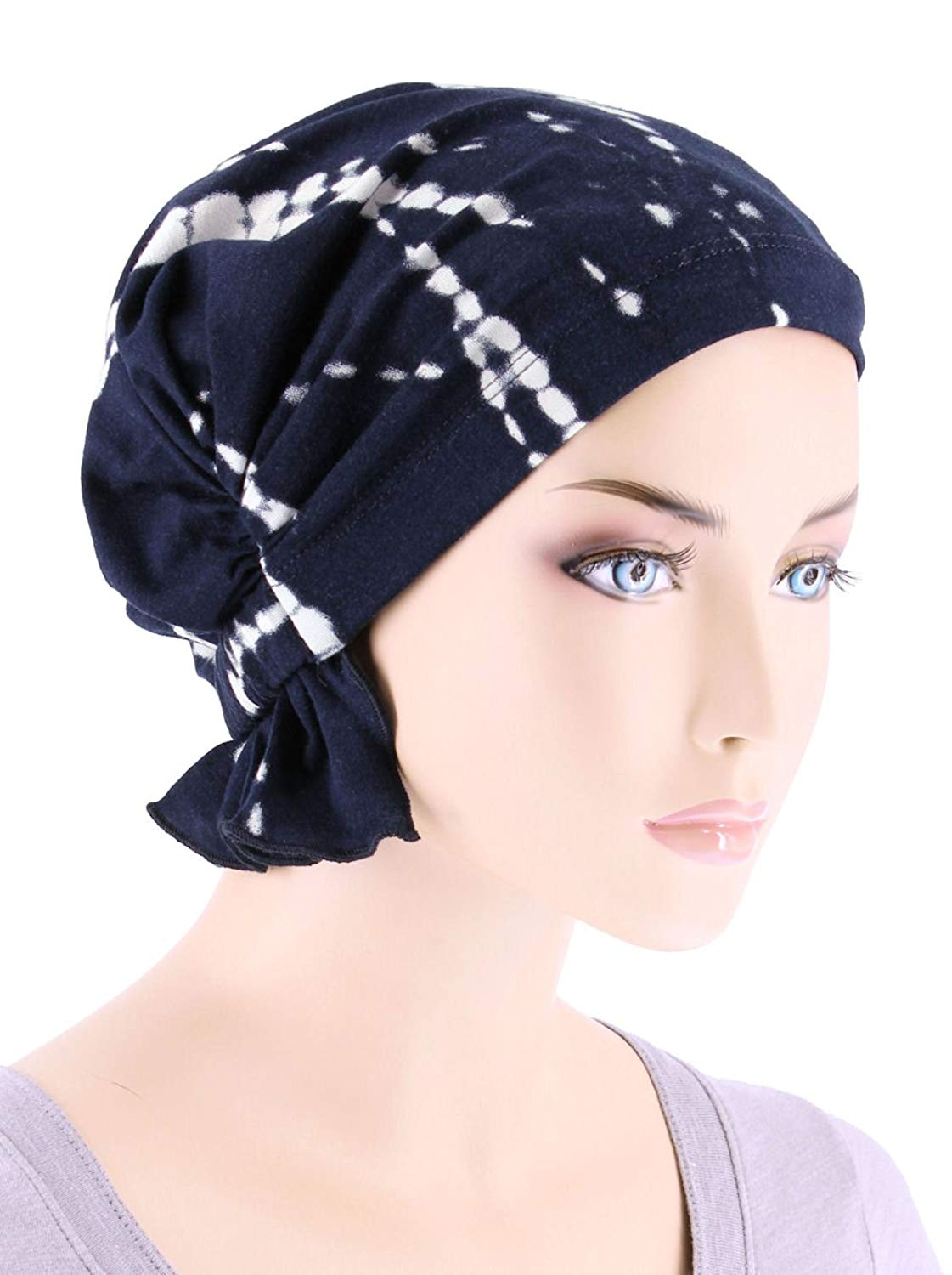 291b408b68fca Get Quotations · Turban Plus Abbey Cap In Poly Knit Chemo Caps Cancer Hats  For Women