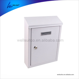 2018 Popular New design good quality stainless steel post box