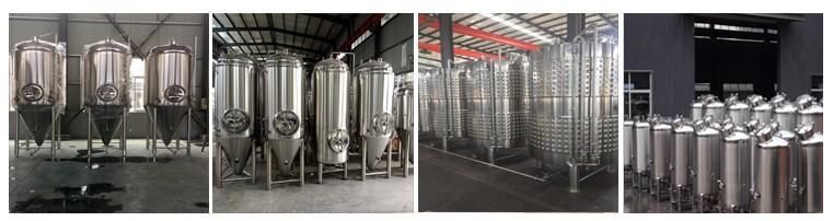 cerveza equipo comercial craft beer brewing machine mash kettle 500l, 1000l, 5000l