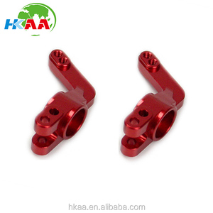 CNC Machined Precision Alloy Rear Axle Carrier, Red for Trike Bike