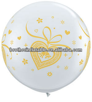 Balloon latter type for wedding center piece decoration