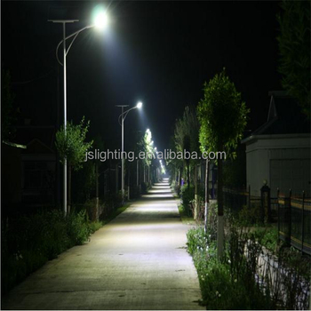 Popular in Africa 6m 30w solar street light with CE FCC ROHS IEC certificates